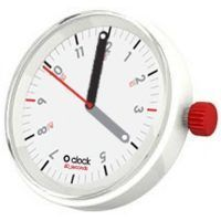 Diales O clock - 60_Seconds Rojo Sobre Blanco
