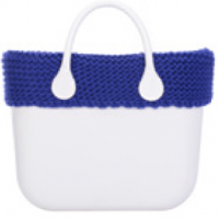 Bordes para O Bag - maxi catenella bluette