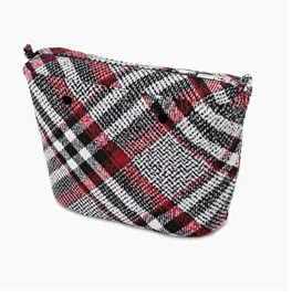 Funda interior O bag - tartan rojo
